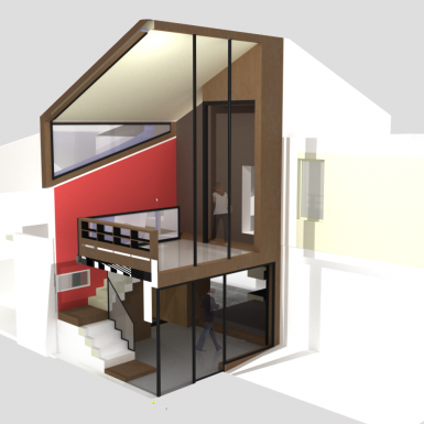 extension verri re agence glenn medioni. Black Bedroom Furniture Sets. Home Design Ideas