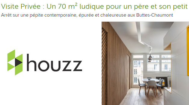 Article Houzz – Buttes Chaumont