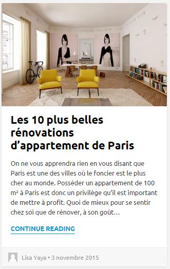 Architectes Paris / Les 10 plus belles rénovations d'appartement