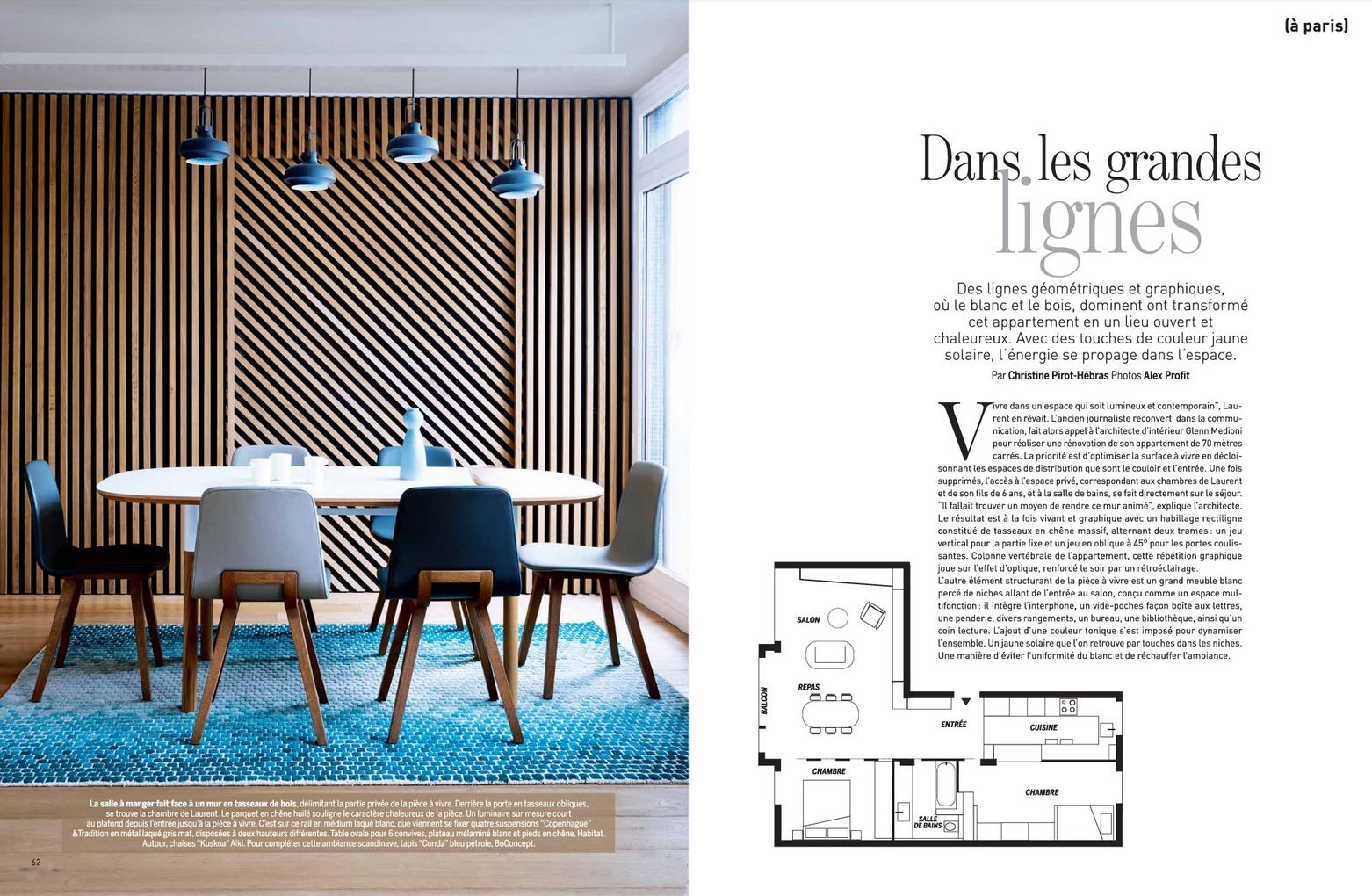 Reportage Photo Réalisé Par Le Magazine Marie Claire Maison.