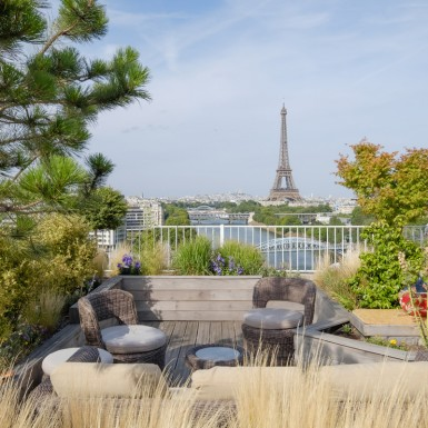 Architecte penthouse, tour Eiffel